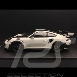 Porsche 911 GT2 RS 991 2018 Pack Weissach chalk grey 1/18 Spark 18S299
