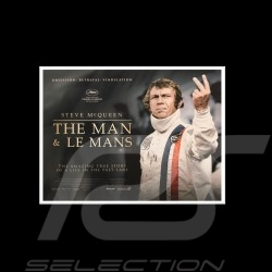Toile imprimée Steve Mc Queen The Man and Le Mans