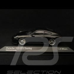 Porsche 911 GT3 Touring 991 ph II noir black schwarz2018 1/43 Minichamps 410067424