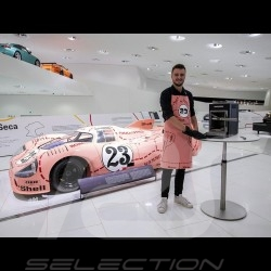"Tablier de cuisine Porsche 917 n° 23 ""cochon rose"" Porsche Design MAP30045019 cooking apron Grillschürze"