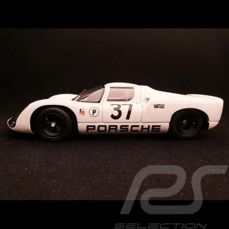 Porsche 910 n° 37 2eme 2nd platz 2 12H Sebring 1967 1/18 Exoto MTB00062