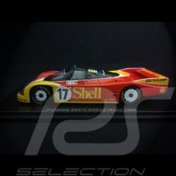 Porsche 962 C n° 17 Shell 2ème Le Mans 1988 1/43 Spark S0901