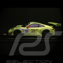 Porsche 911 type 991 GT3 n° 911 Manthey 24h Spa 2018 1/43 Spark SB215