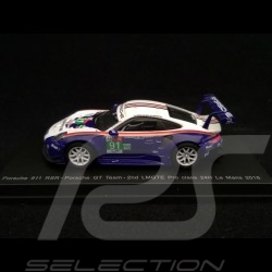 Porsche 911 typ 991 RSR n° 91 24H Le Mans 2018 Style Rothmans 1/64 Spark Y121