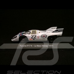 Porsche 917 K Vainqueur Le Mans 1971 n° 22 Martini 1/43 Spark MAP02027113