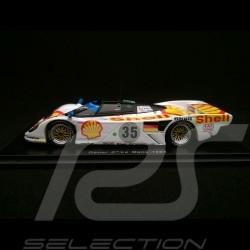 Porsche 962 Dauer n° 35 Shell Platz 3 24H Le Mans 1994 1/43 Spark S1900