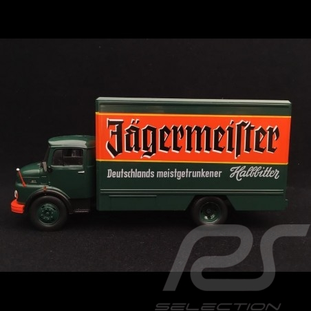 Camion Mercedes-Benz L1113 1969 Jägermeister 1/43 DeAGOSTINI LKW003