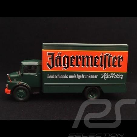 Mercedes-Benz L1113 truck 1969 Jägermeister 1/43 DeAGOSTINI LKW003