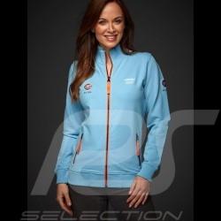 Gulf fleece jacket zipper Collectors Edition Gulf blue - women
