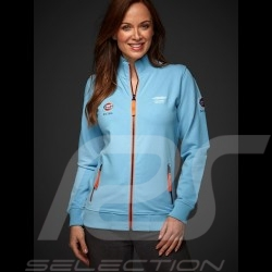 Veste Jacket Jack Gulf zippée molleton Collectors Edition bleu gulf blue blau femme women damen