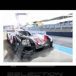 Poster Plakat Porsche 919 Hybrid n° 2 24h Le Mans 29.7cm x 42cm