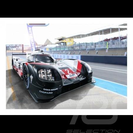 Porsche 919 Hybrid n° 2 24h Le Mans plakat 29.7cm x 42cm