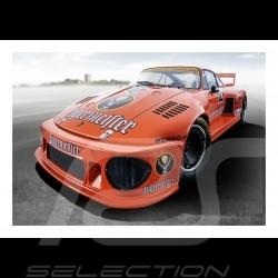 Poster Plakat Porsche 935 /77 n° 52 Jägermeister 29.7cm x 42cm