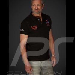 Polo Gulf Racing Laguna Seca Corkscrew noir black schwarz orange homme femme damen