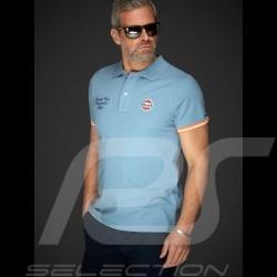 Polo Gulf Classique Classic Klassiches Bleu Gulf blue blau homme men herren