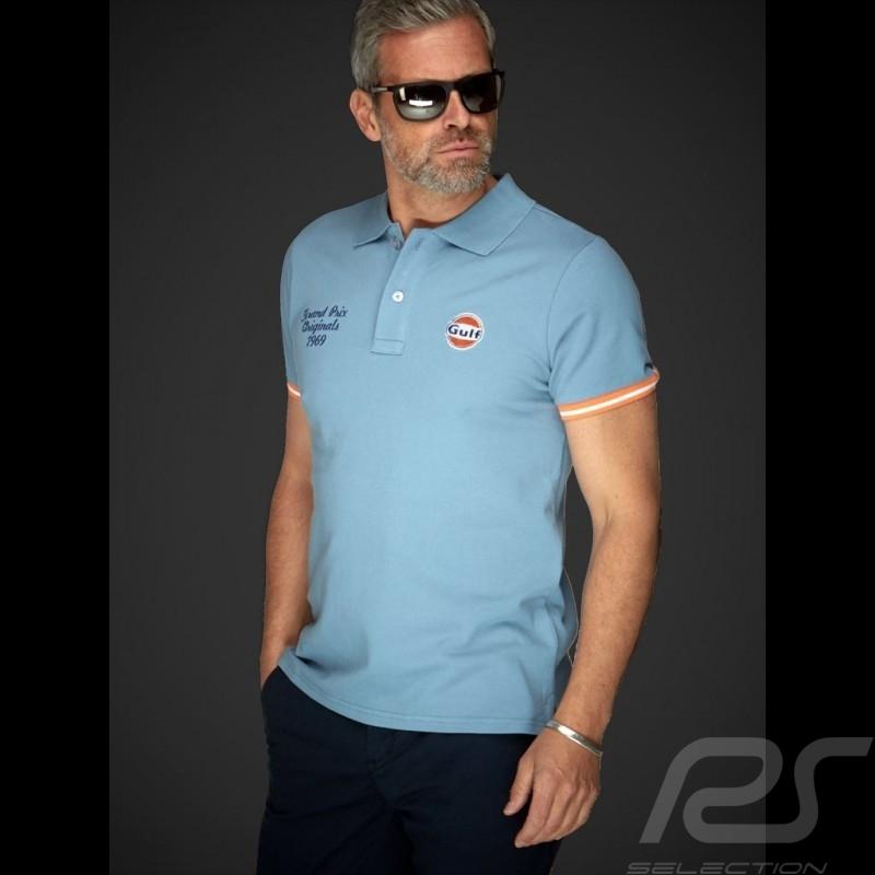 Gulf Classic Polo Gulf blue - men