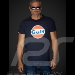 T-Shirt Gulf navy blue - men