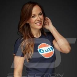 T-Shirt Gulf Navy blue  - women