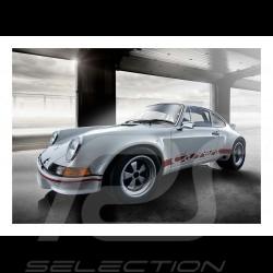 Porsche 917 n° 20 Gulf with Steve McQueen poster 29.7cm x 42cm