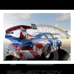 Poster Porsche 911 GT2 n° 2 FFSA GT 1998 29.7cm x 42cm