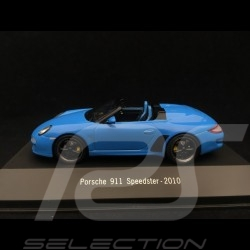 Porsche 911 type 997 phase II Speedster 2010 bleu 1/43 Atlas 7114011