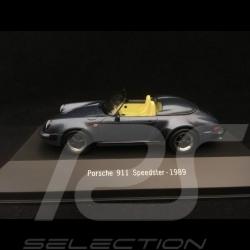 Porsche 911 Speedster 1989 bleu métalisé 1/43 Atlas 7114015