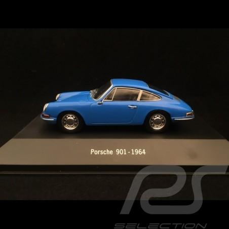 Porsche 901 1964 blue 1/43 Atlas 7114001