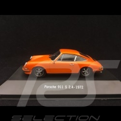 Porsche 911 S 2.4 1972 orange 1/43 Atlas 7114010