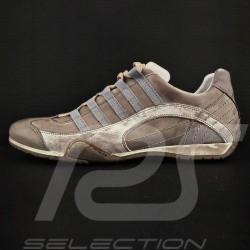 Sneaker / Basket Schuhe Style Rennfahrer Beige - Herren