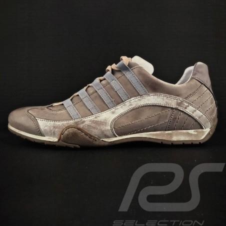 Sneaker / basket shoes Style race driver Beige - men