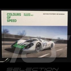 Book Colours of Speed - 50 Jahre Porsche 917 - in German