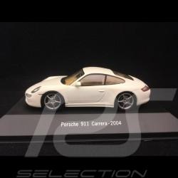 Porsche 911 type 997 Carrera 2004 blanc 1/43 Atlas 7114014