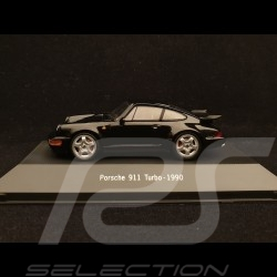 Porsche 911 type 964 Turbo 1990 black 1/43 Atlas 7114025