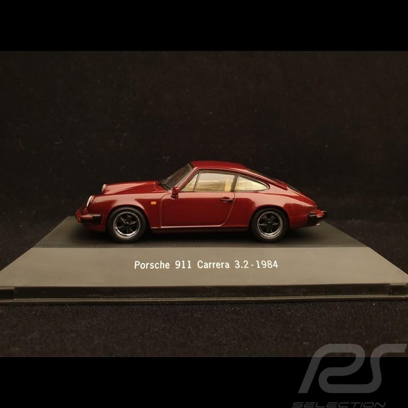 Porsche 911 Carrera 3.2 1984 bordeaux 1/43 Atlas 7114018