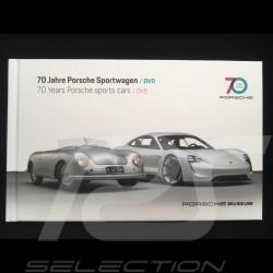 DVD + Buch 70 Jahre Porsche Sportwagen / 70 years sportscars