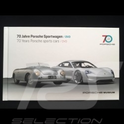 DVD + Livre book buch 70 Jahre Porsche Sportwagen / 70 years sportscars