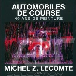Livre book buch Automobiles de course - 40 ans de peinture