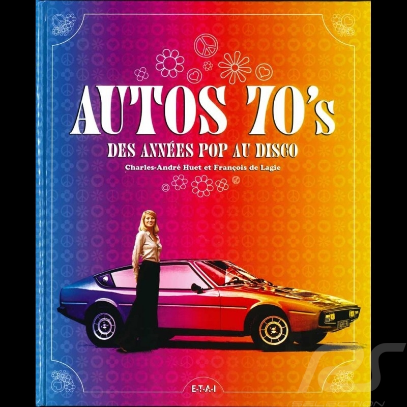 Book Autos 70's - des années pop au disco