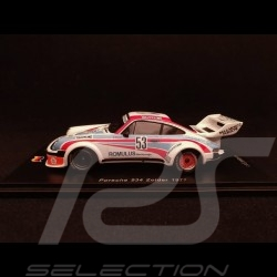 Porsche 934 n° 53 Valvoline Zolder 1977 1/43 Spark SG396