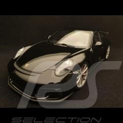 Porsche 911 GT3 2017 metallic black 1/18 Minichamps 110067031