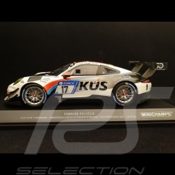 Porsche 911 typ 991 GT3 R n° 17 Team KÜS 24h Nürburgring 1/18 Minichamps 153186917
