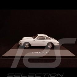 Porsche 911 S 1967 weiß 1/43 Atlas 7114024