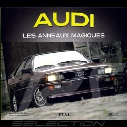 Livre Book Buch Audi - Les anneaux magiques