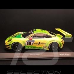 Porsche 911 typ 991 GT3 R Nürburgring 2017 n° 911 Manthey racing 1/18 Minichamps 155176911