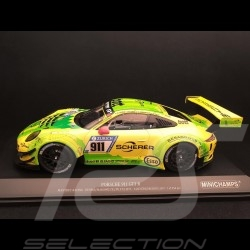Porsche 911 type 991 GT3 R Nürburgring 2017 n° 911 Manthey racing 1/18 Minichamps 155176911