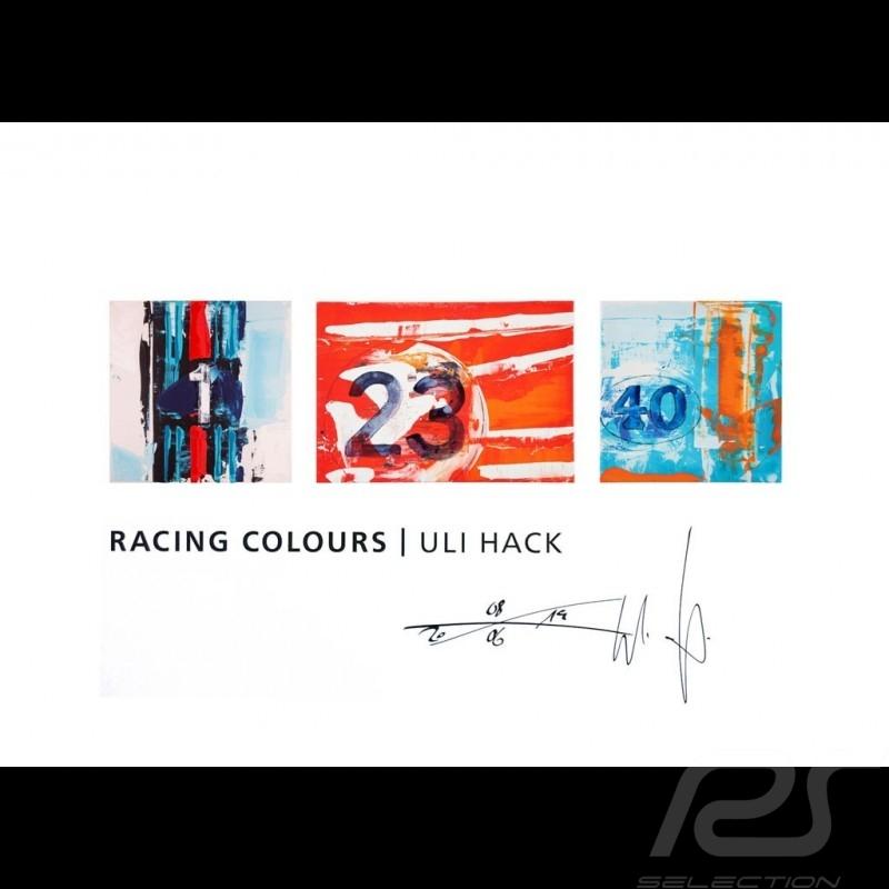 Porsche Racing Colours Reproduction of an Uli Hack original painting