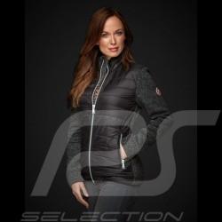 Veste jacket jacke Gulf bi-matière Motorsport Edition Noir - femme