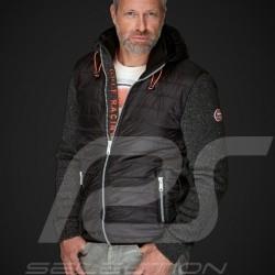 Veste jacket jacke à capuche kapuze hoodie Gulf bi-matière Motorsport Edition Noir - homme