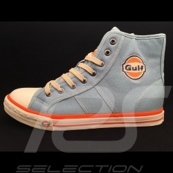 Gulf Hi-top sneaker / basket shoes Vintage design Gulf blue - men