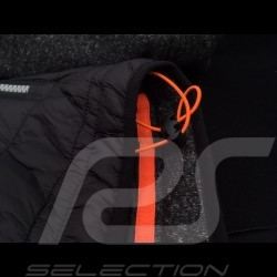 Gulf bi-material hoodie jacket Motorsport Edition Black - men